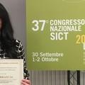 Debora Brascia riceve il Premio Andrea Schiavino dedicato alla Chirurgia Toracica