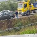 Incidente via Palo: «Fuori strada per due cani in attraversamento»