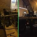 Un fulmine colpisce la chiesa del Sacro Cuore a Bitonto e fa crollare un cornicione