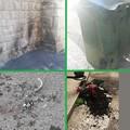 Vandali di Capodanno a Bitonto: il fuoco danneggia Porta Baresana