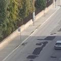 «In macchina come sulle montagne russe sulle strade di Bitonto»