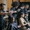 Salvo Binetti alla Milan Fashion Week per il brand Vìen