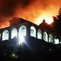 A fuoco i santuari della diocesi di monsignor Savino