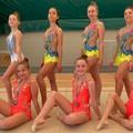 Ginnastica ritmica, la New Athletic Club fa l'en plein di finaliste nazionali