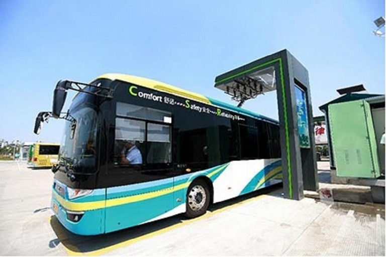 Bus elettrico. <span>Foto Greenreport</span>
