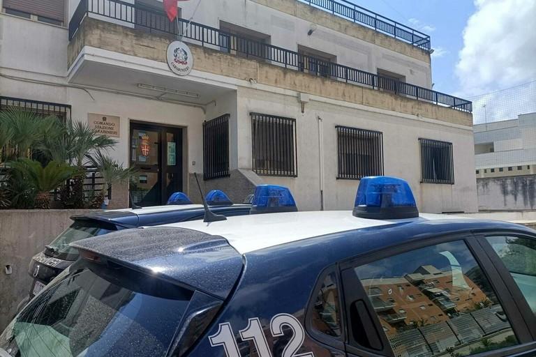 La Stazione dei Carabinieri di Bitonto