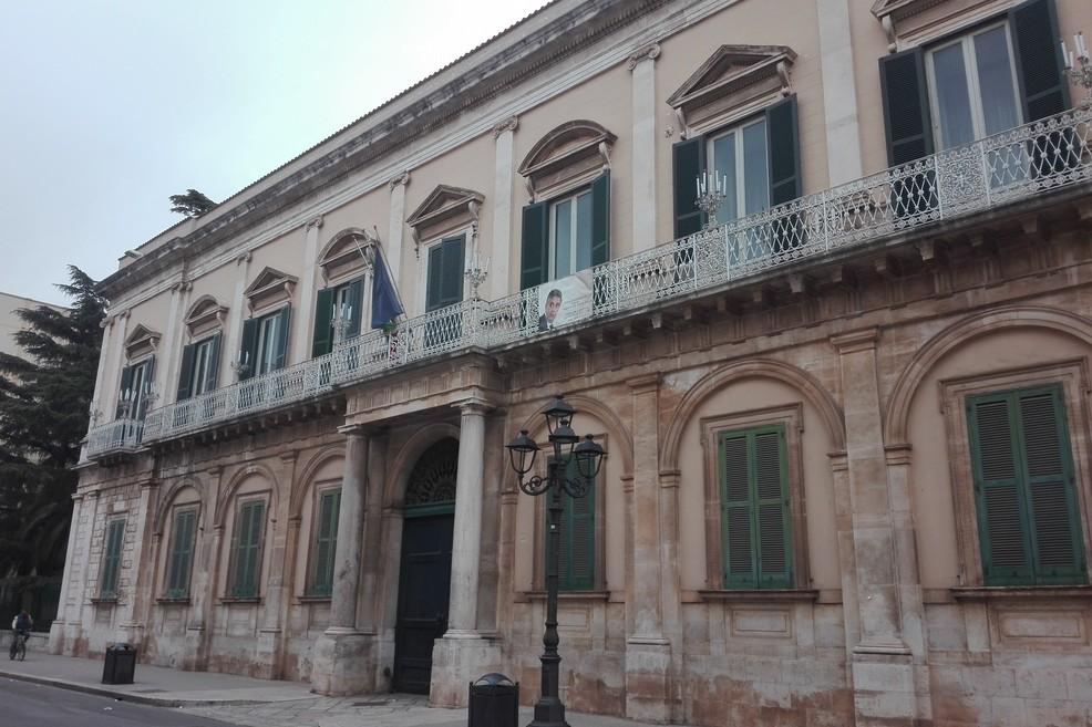 Bitonto - La sede del Comune (Foto MD)