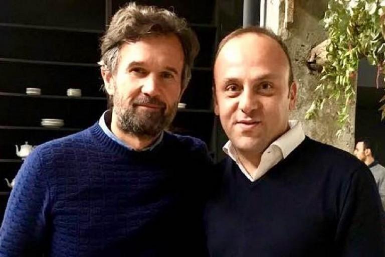Antonio Moschetta e Carlo Cracco insieme per «Il buono che fa bene»
