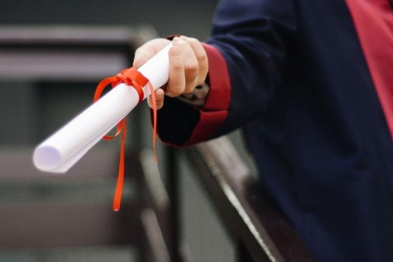Cerimonia di Consegna dei diplomi