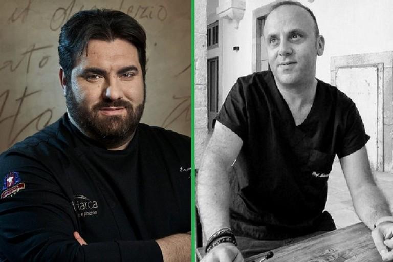 Emanuele Natalizio ed Antonio Moschetta