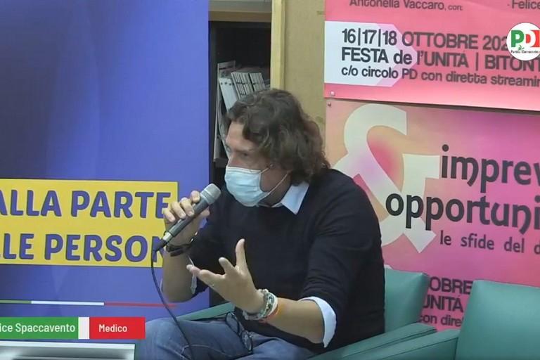Felice Spaccavavento ospite del Pd di Bitonto