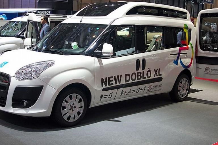 Fiat Dobl per disabili