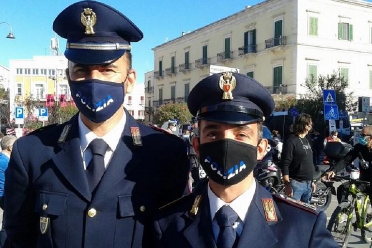 Francesco Abbadessa a destra con il collega Pastore