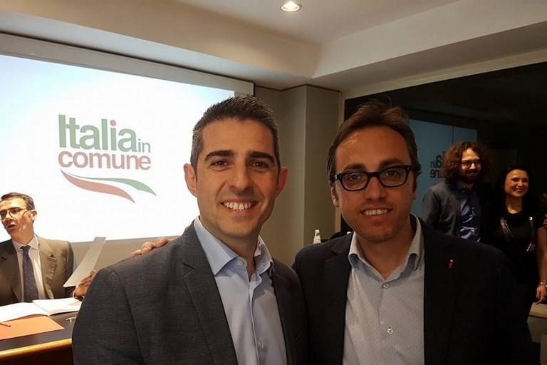 Francesco Cariello con Pizzarotti