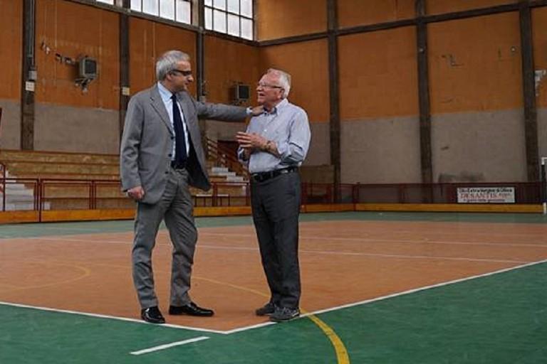 Francesco Paolo Ricci con il presidente Vincenzo Schiraldi