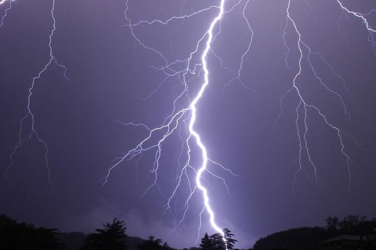 Un temporale