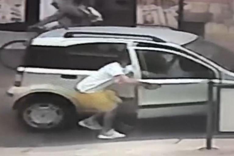 Il furto avvenuto in via Matteotti