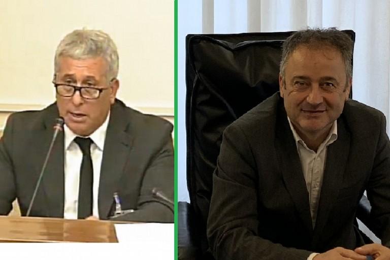 Gennaro sicolo e il neo presidente Pini