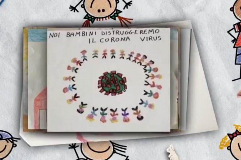 i diegni dei bambini del servizio NPIA di Bitonto