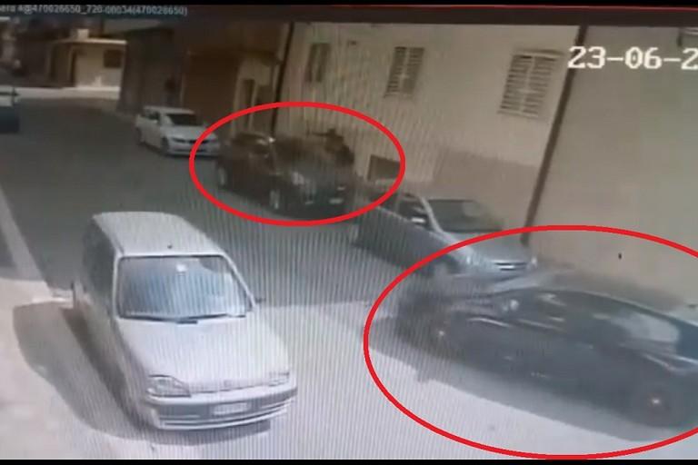 I ladri della Volkswagen Scirocco in azione ad Altamura