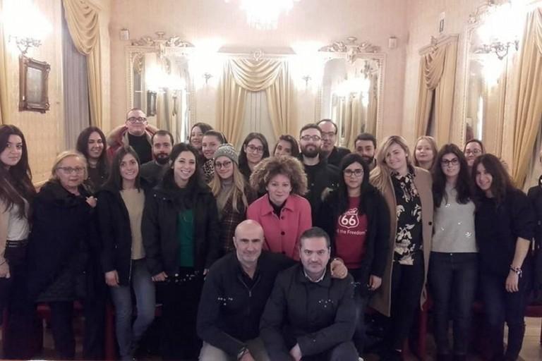 I ragazzi del Servizio civile Nazionale a Palazzo Gentile