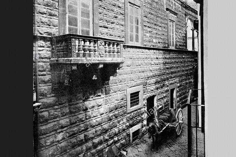 Il balcone di Palazzo Termite (Foto Bygone Collection / Alamy Stock Photo)