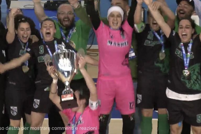 Il Bitonto alza la Coppa Italia