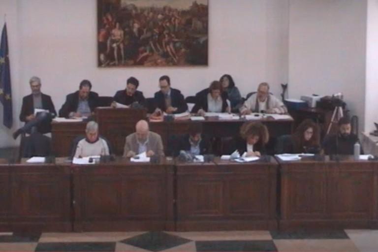il consiglio comunale dello scorso febbraio