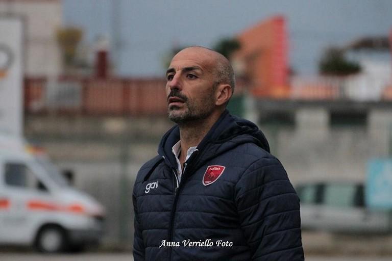 Il neo allenatore del Bitonto mister Roberto Taurino. <span>Foto Anna Verriello</span>
