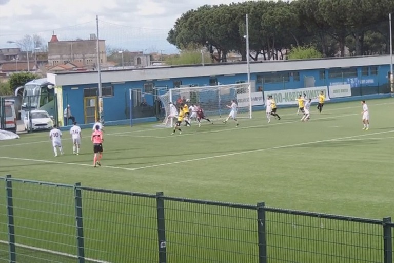 Il primo gol di Patierno