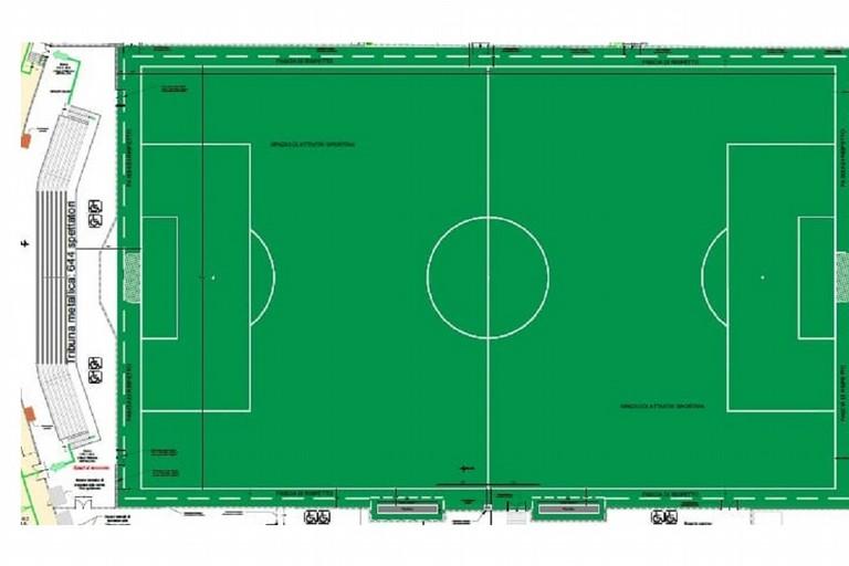 Il progetto per il rifacimento del campo dello stadio DegliUlivi