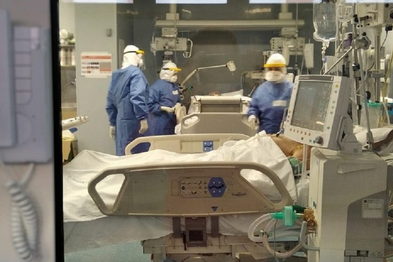 Il reparto di Terapia Intensiva e rianimazione del Policlinico di Bari