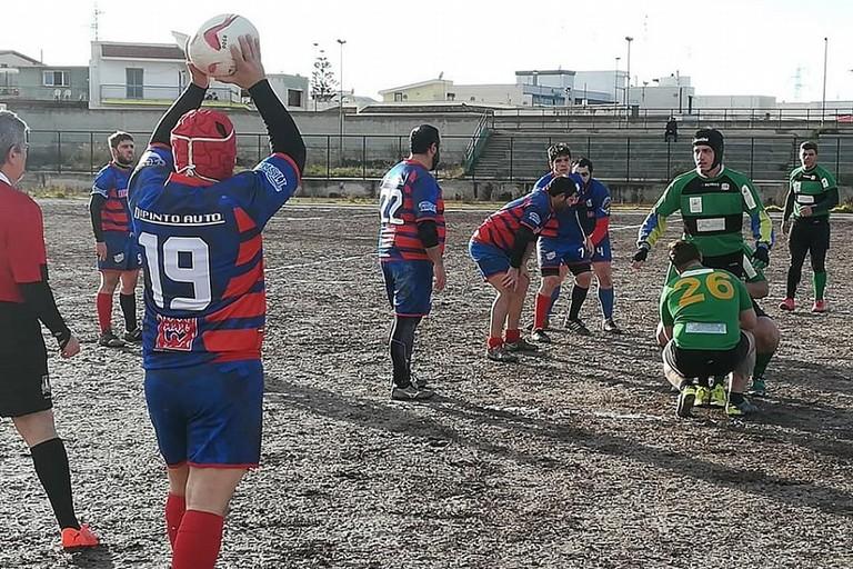Il Rugby Bitonto in campo contro il Taranto