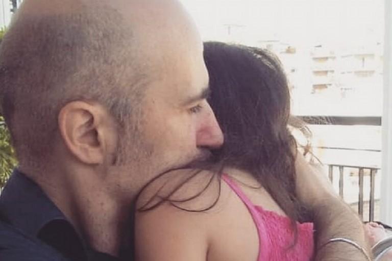 Il sindaco con sua figlia