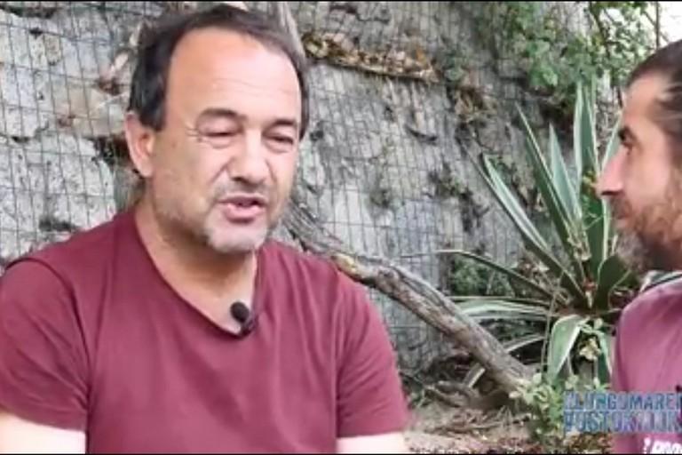 Il sindaco di Riace con Lorenzo Scaraggi