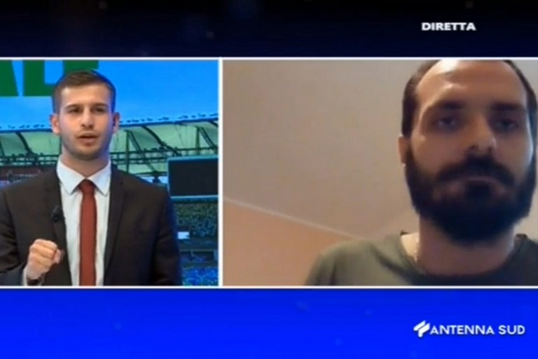 Il vicepresidente dellUsd Bitonto Orlino in diretta su Antenna Sud