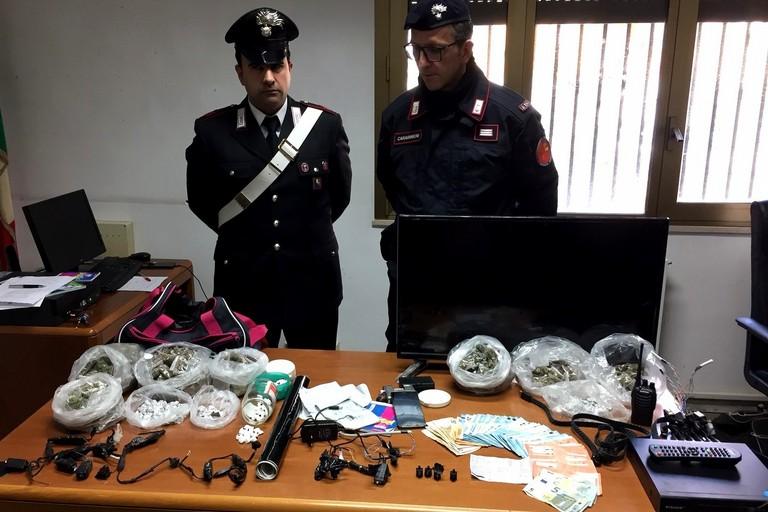 Il sequestro dei Carabinieri