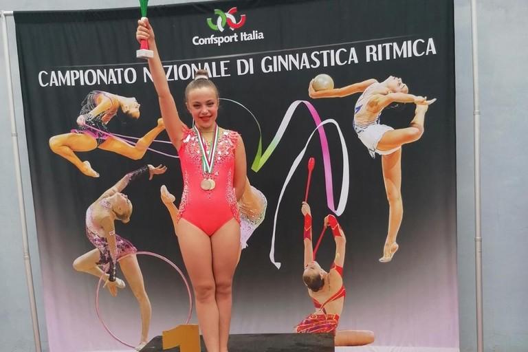 Claudia Pice del New Athletic Club Bitonto