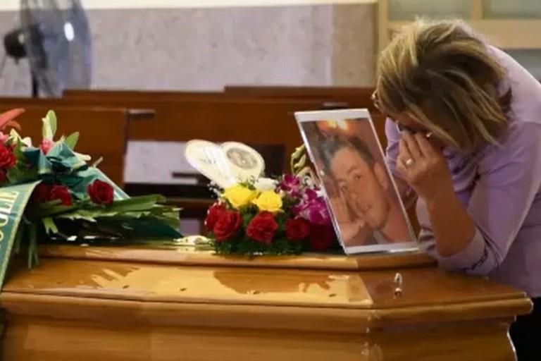 I funerali di Paolo Caprio