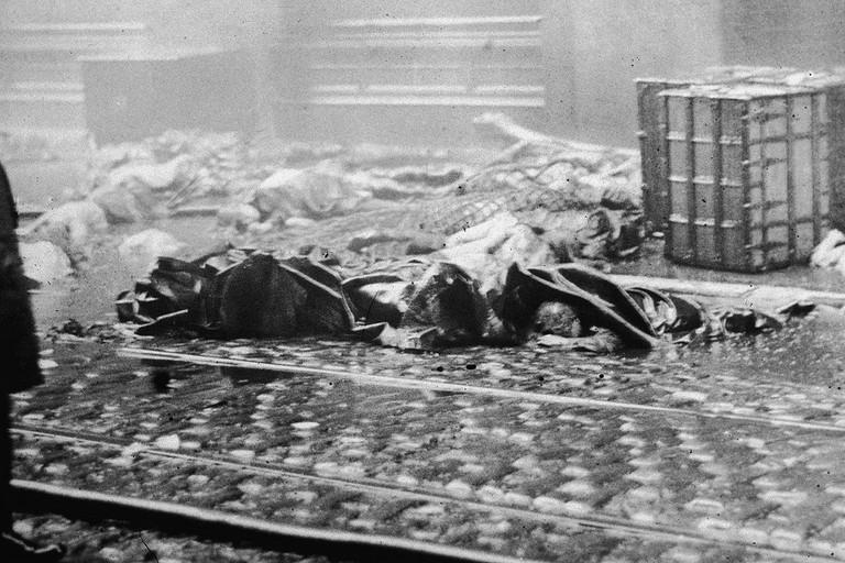 Incendio alla Triangle Waiste di New York