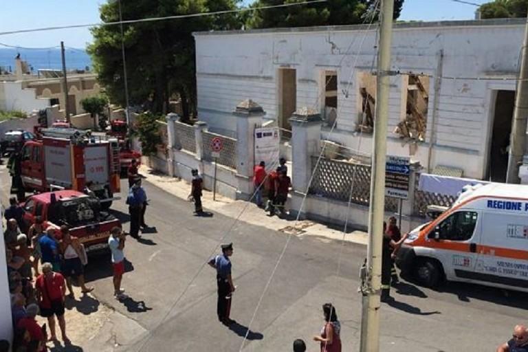 Incidente a Santa Maria di Leuca. <span>Foto Leccenews24</span>