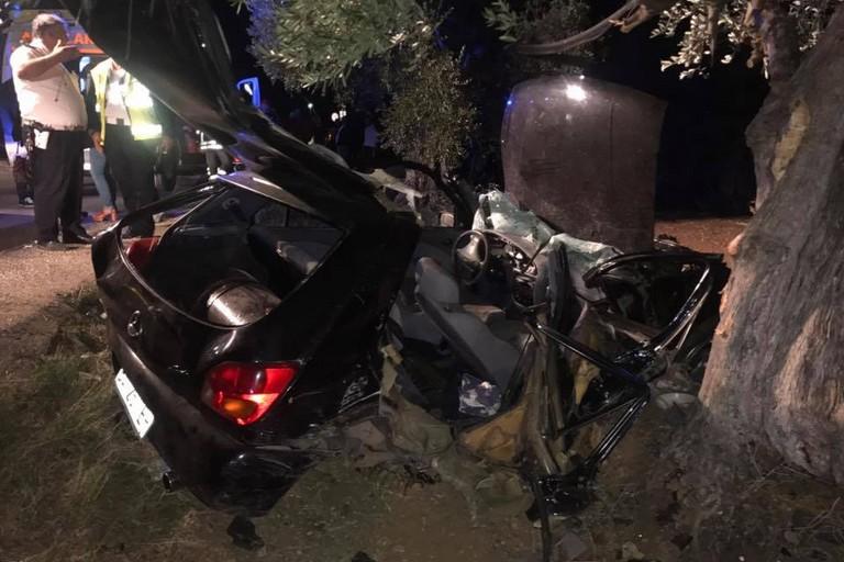 Violento incidente sulla via per Palombaio: ferite gravemente 4 persone. Tra loro un'intera famiglia