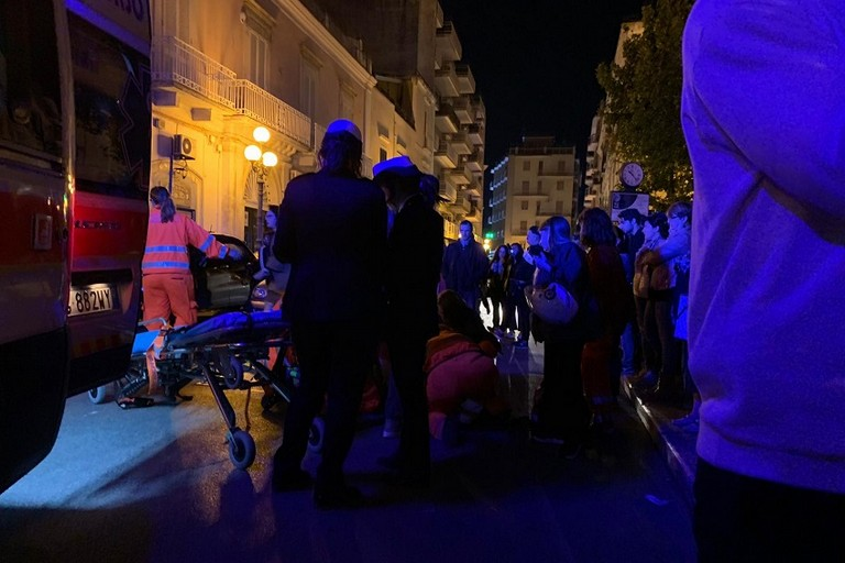 Incidente su via Matteotti