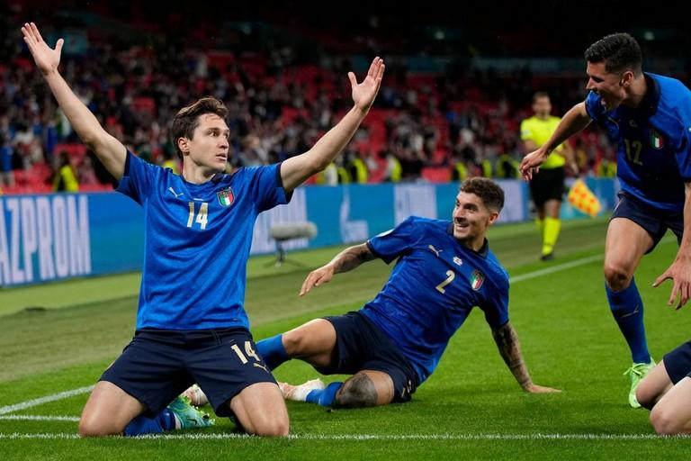 Chiesa in gol contro l'Austria