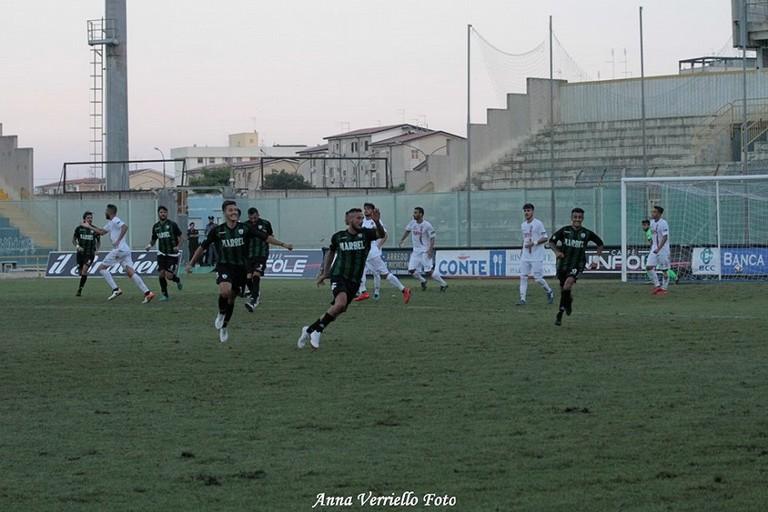 Primo punto storico per l'USD Bitonto: il derby col Taranto finisce 1-1 in rimonta