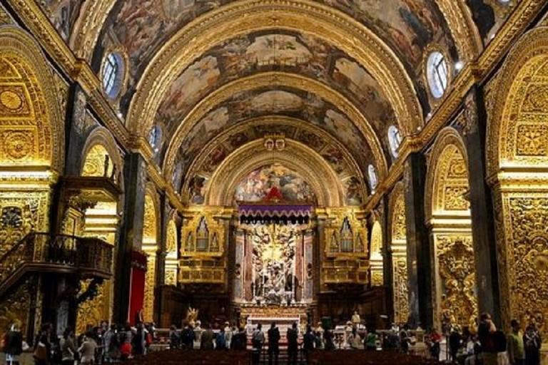 Linterno della Concattedrale di San Giovanni a Malta