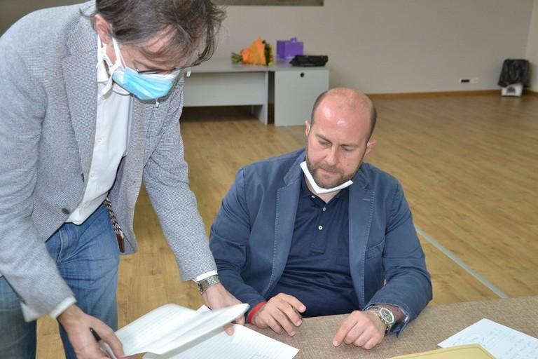 La firma di don Vito Piccinonna