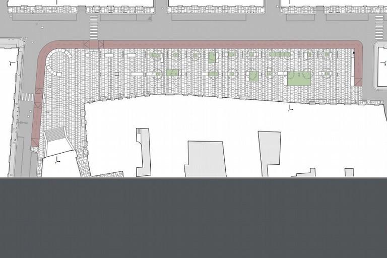 La nuova Piazza SantEgidio e piazza XX Settembre