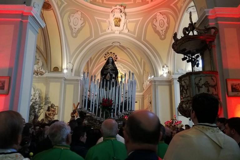 La processione dei Misteri a Bitonto