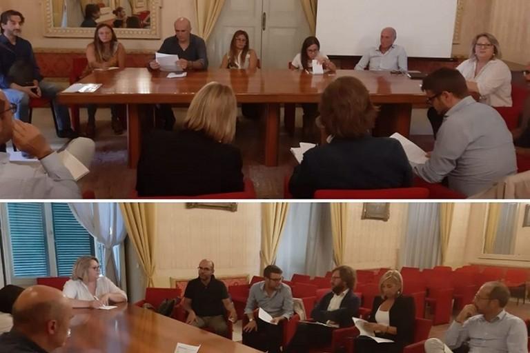 La riunione a Palazzo Gentile con i vertici ASL